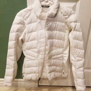 North Face Women's White Puffer Jacket